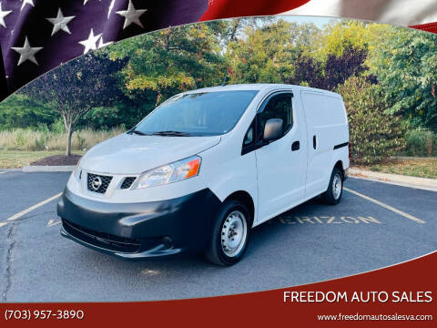 2013 Nissan NV200 for sale at Freedom Auto Sales in Chantilly VA