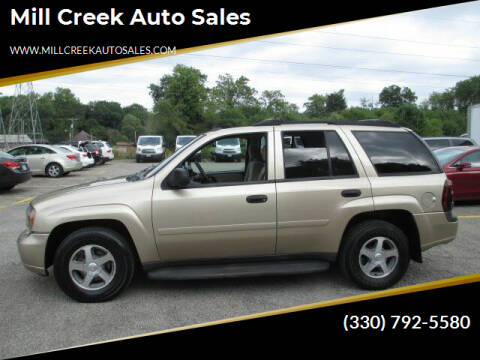 2006 Chevrolet TrailBlazer for sale at Mill Creek Auto Sales in Youngstown OH
