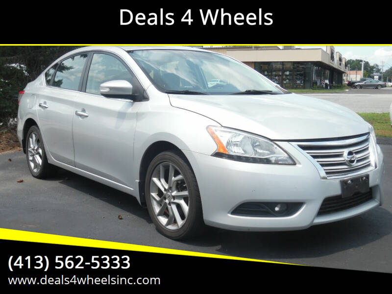 2013 Nissan Sentra for sale at Deals 4 Wheels in Westfield MA