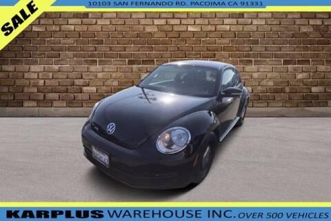 2013 Volkswagen Beetle for sale at Karplus Warehouse in Pacoima CA