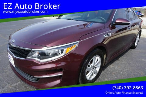 2016 Kia Optima for sale at EZ Auto Broker in Mount Vernon OH