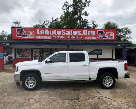 2017 GMC Sierra 1500 for sale at LA Auto Sales in Monroe LA