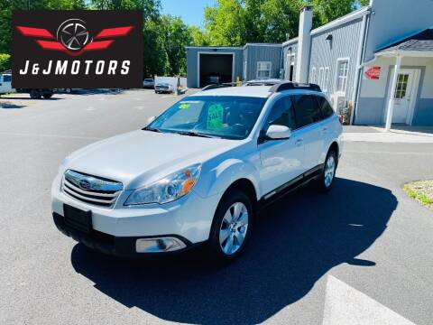 2012 Subaru Outback for sale at J & J MOTORS in New Milford CT