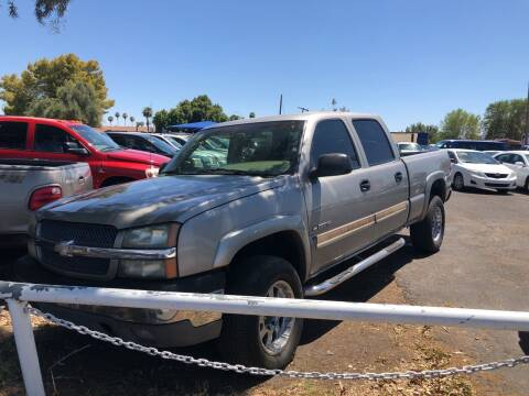2003 Chevrolet Silverado 1500HD for sale at Valley Auto Center in Phoenix AZ