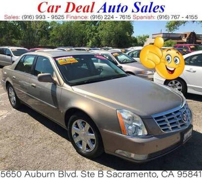2006 Cadillac DTS for sale at Car Deal Auto Sales in Sacramento CA
