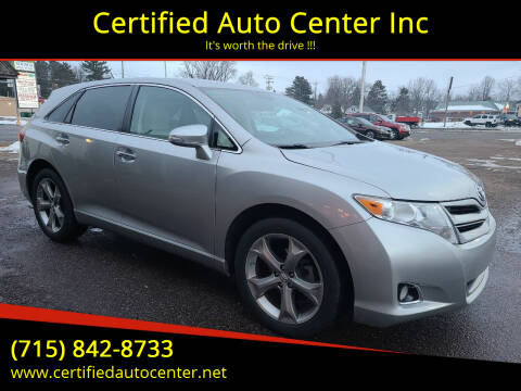 2015 Toyota Venza for sale at Certified Auto Center Inc in Wausau WI