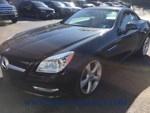 2013 Mercedes-Benz SLK for sale at J & M Automotive in Naugatuck CT
