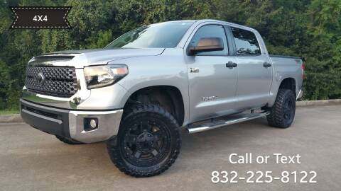 2018 Toyota Tundra for sale at Houston Auto Preowned in Houston TX