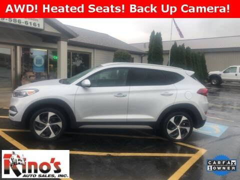 2017 Hyundai Tucson for sale at Rino's Auto Sales in Celina OH