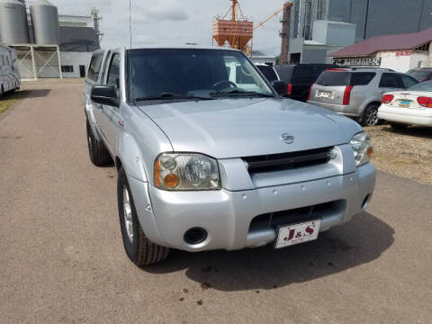 2003 Nissan Frontier for sale at J & S Auto Sales in Thompson ND