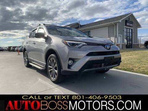 2017 Toyota RAV4 Hybrid for sale at Auto Boss in Woodscross UT