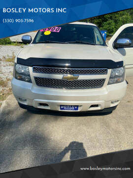 2008 Chevrolet Suburban for sale at BOSLEY MOTORS INC in Tallmadge OH