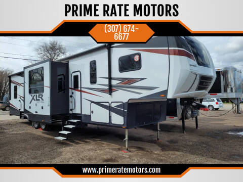 2020 Forest River XLR Nitro Toy Hauler for sale at PRIME RATE MOTORS in Sheridan WY