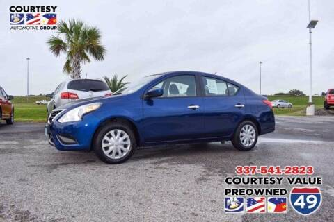 2019 Nissan Versa for sale at Courtesy Value Pre-Owned I-49 in Lafayette LA