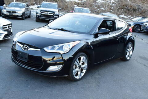 2017 Hyundai Veloster for sale at Automall Collection in Peabody MA