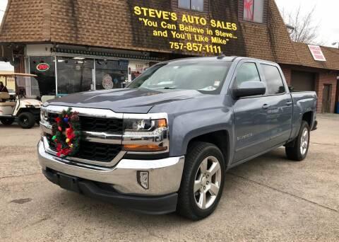 2016 Chevrolet Silverado 1500 for sale at Steve's Auto Sales in Norfolk VA