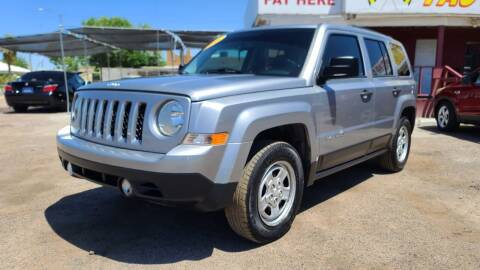 2016 Jeep Patriot for sale at Fast Trac Auto Sales in Phoenix AZ