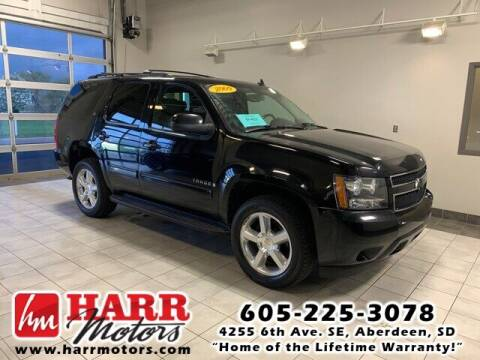 2009 Chevrolet Tahoe for sale at Harr Motors Bargain Center in Aberdeen SD
