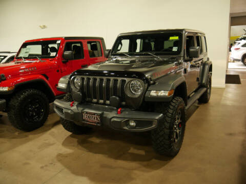 2020 Jeep Wrangler Unlimited for sale at Montclair Motor Car in Montclair NJ