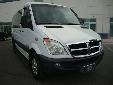 2008 Dodge Sprinter Passenger for sale at Shell Motors in Chantilly VA