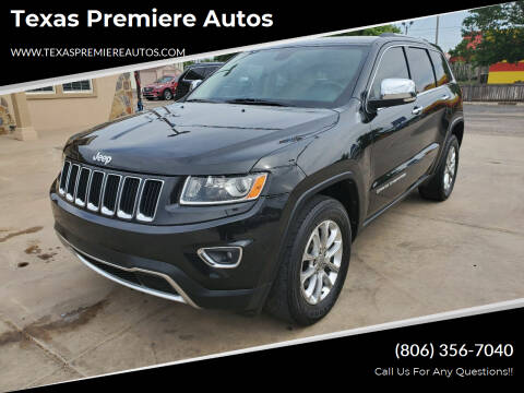 2014 Jeep Grand Cherokee for sale at Texas Premiere Autos in Amarillo TX