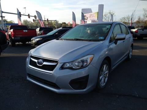 2013 Subaru Impreza for sale at P J McCafferty Inc in Langhorne PA