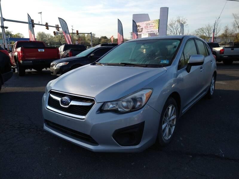 2013 Subaru Impreza for sale at P J McCafferty Inc in Langhorne PA