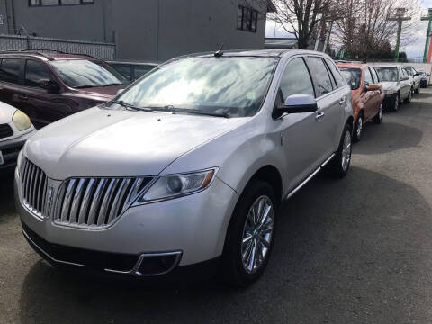 2011 Lincoln MKX for sale at Car Craft Auto Sales Inc in Lynnwood WA