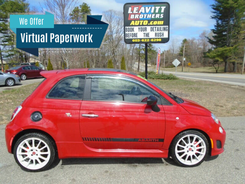 2012 FIAT 500 for sale at Leavitt Brothers Auto in Hooksett NH