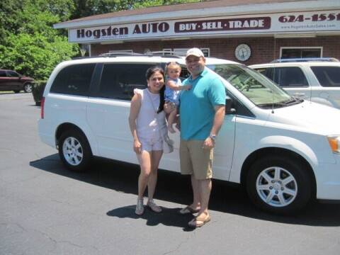 2010 Chrysler Town and Country for sale at HOGSTEN AUTO WHOLESALE in Ocala FL
