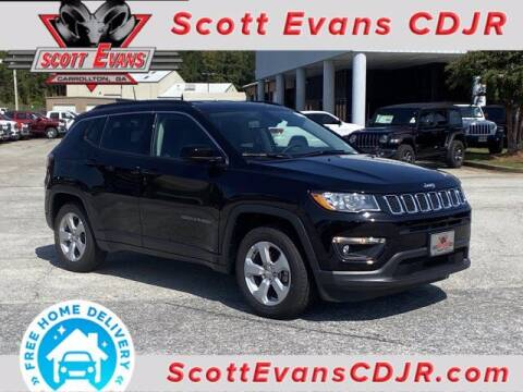 2021 Jeep Compass for sale at SCOTT EVANS CHRYSLER DODGE in Carrollton GA