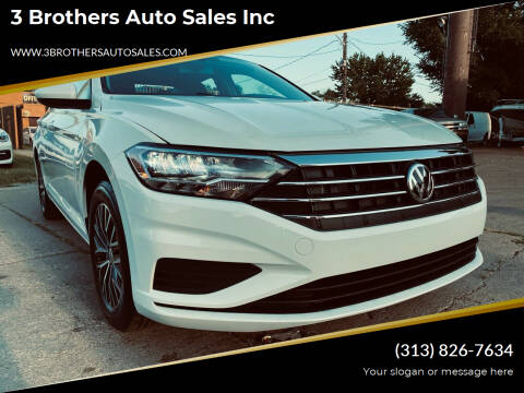2021 Volkswagen Jetta for sale at 3 Brothers Auto Sales Inc in Detroit MI