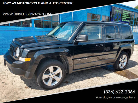 2016 Jeep Patriot for sale at HWY 49 MOTORCYCLE AND AUTO CENTER in Liberty NC