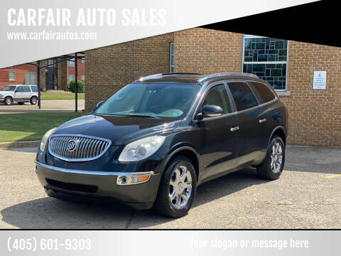 2009 Buick Enclave for sale at CARFAIR AUTO SALES in Oklahoma City OK