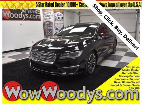 2018 Lincoln MKZ for sale at WOODY'S AUTOMOTIVE GROUP in Chillicothe MO