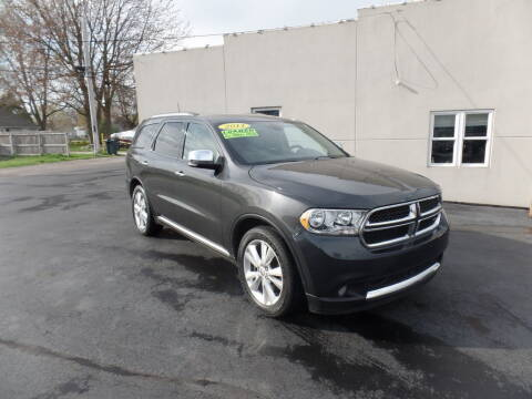 2011 Dodge Durango for sale at DeLong Auto Group in Tipton IN