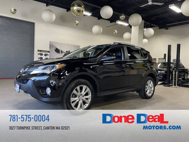 2013 Toyota RAV4 for sale at DONE DEAL MOTORS in Canton MA