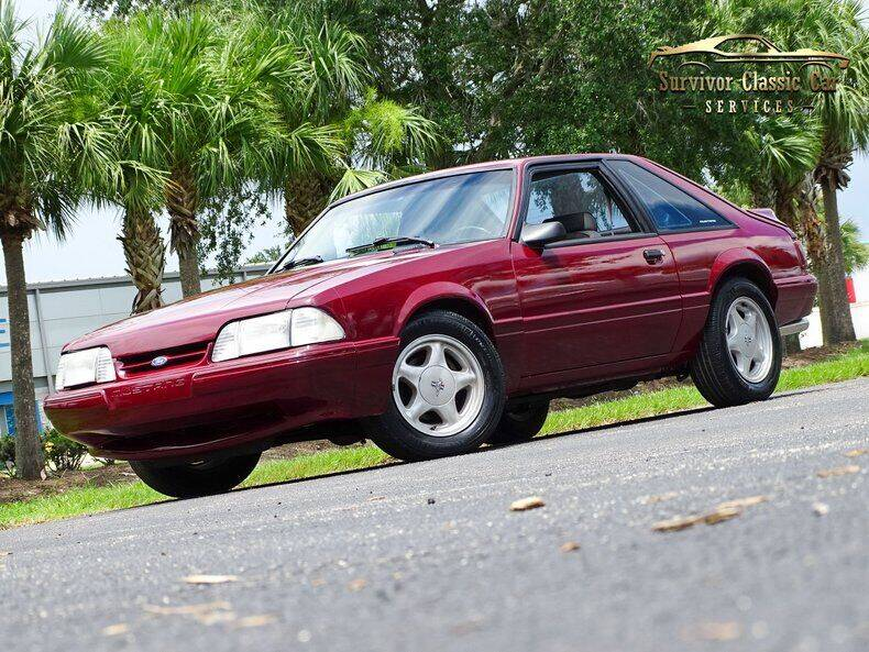 1990 Ford Mustang for sale at SURVIVOR CLASSIC CAR SERVICES in Palmetto FL
