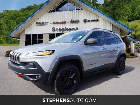 2017 Jeep Cherokee for sale at Stephens Auto Center of Beckley in Beckley WV
