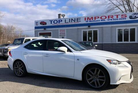 2014 Lexus IS 250 for sale at Top Line Import of Methuen in Methuen MA