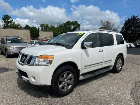 2012 Nissan Armada for sale at River Motors in Portage WI