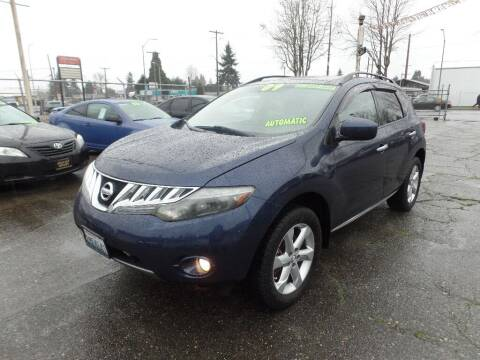2009 Nissan Murano for sale at Gold Key Motors in Centralia WA