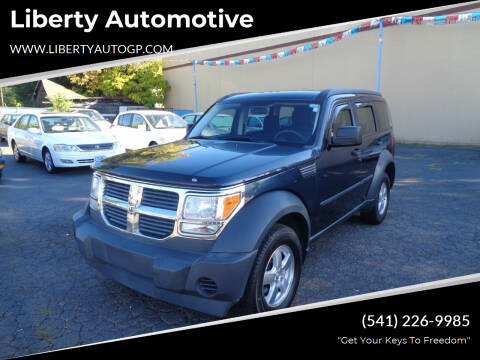 2008 Dodge Nitro for sale at Liberty Automotive in Grants Pass OR