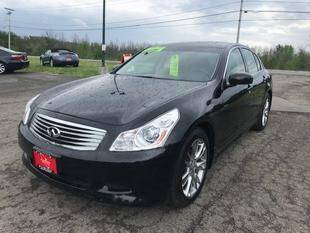 2008 Infiniti G35 for sale at FUSION AUTO SALES in Spencerport NY