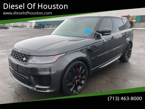 2020 Land Rover Range Rover Sport for sale at Diesel Of Houston in Houston TX