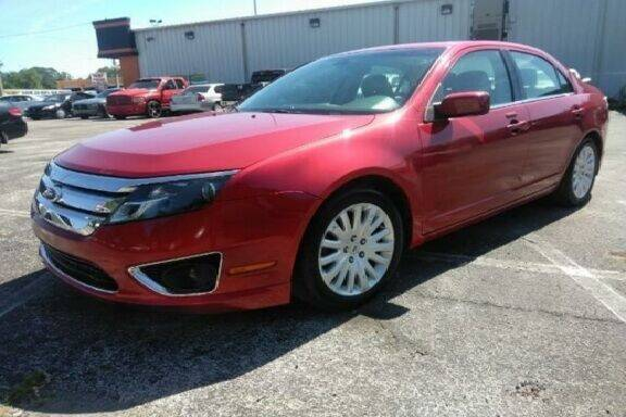 2011 Ford Fusion Hybrid for sale at JacksonvilleMotorMall.com in Jacksonville FL