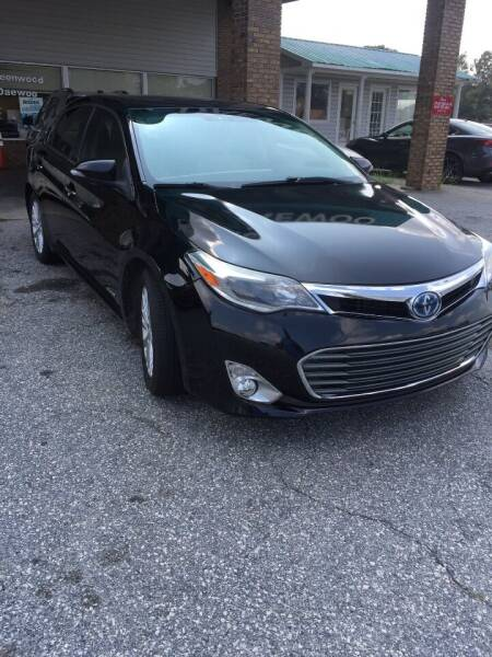 2013 Toyota Avalon Hybrid for sale at GREENWOOD DAEWOO in Greenwood SC