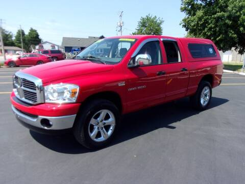 2007 Dodge Ram Pickup 1500 for sale at Ideal Auto Sales, Inc. in Waukesha WI