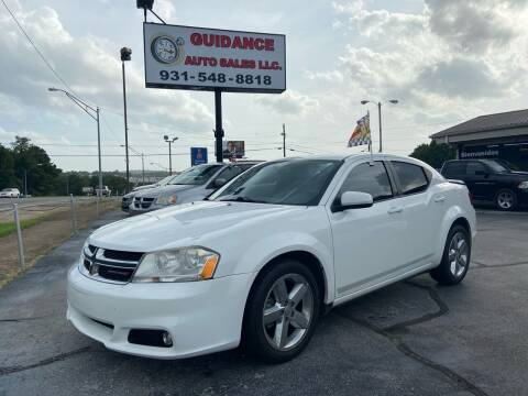 2012 Dodge Avenger for sale at Guidance Auto Sales LLC in Columbia TN