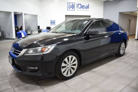 2014 Honda Accord for sale at iDeal Auto Imports in Eden Prairie MN